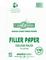 Recycled 170 Count 11X8 1/2 Filler Paper
