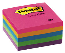 3M Post It Notes Cube