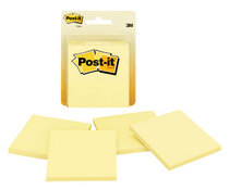 Yellow Post It 4 Pack