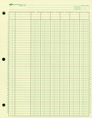 Blank Accounting Journal Worksheets | Free Printable Math Worksheets ...