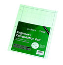 PadLaw Rule 85X1175 Green 80 Sheets