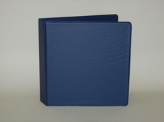 Four Point 1.5 inch Vinyl Angle D Ring Binder