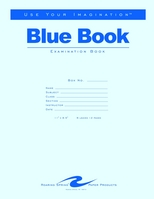 Blue Examamination Book 11X8.5 12 Page