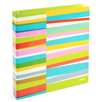 Poppin Lime Green Streamer, 1 Chipboard Binder