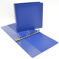 Four Point 2 inch Poly Angled D Ring Storage Binder