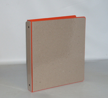 Four Point 1 inch Recycled Binder, Orange
