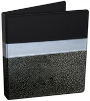 Four Point 1 inch Animal Print Binder