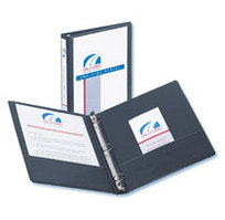 Acco 1 inch View Binder Black