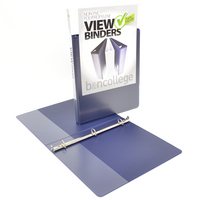 0.5 Angle D View  Non Imprint Binder
