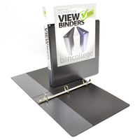 1 VIEW Binder, Poly, Angle DRing, 11 x 8 12