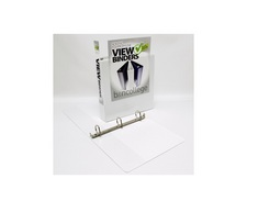 112 VIEW Binder, Poly, Angle DRing, 11 x 8 12