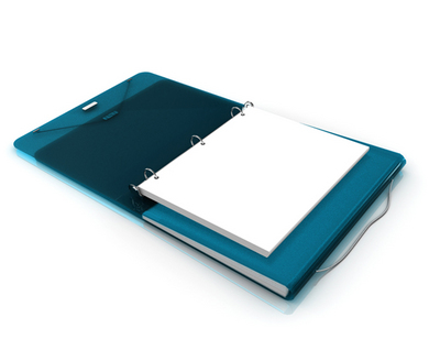 Samsill DUO Binder, Turquoise