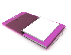 Orchid Duo Binder