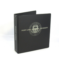 Four Point 2 inch Imprinted Vinyl Binder