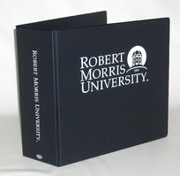 Four Point 3 inch Imprinted Vinyl Binder
