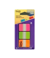 Post It Divider Tabs. Pink, Green, Orange