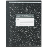 Marble Composition Book, Wide Ruled