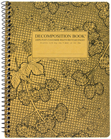 Michael Roger Cascade Hops Ruled Decomposition Book (Coilbound)