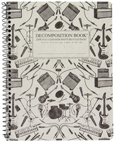 Michael Roger Plugged In Ruled Decomposition Book (Coilbound)