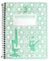 Michael Roger Microscopes (Grid Pages) Decomposition Book (Coilbound)