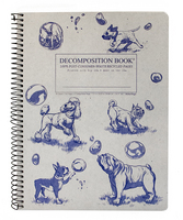 Michael Roger Dogs & Bubbles Decomposition Book (Coilbound)