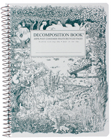 Gardening Gnomes Coilbound Decomposition Book Lined 7.5x9.75