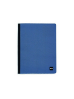Miquel Rius Waves Spiral Free Notebook, Blue