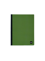 Miquel Rius Waves Spiral Free Notebook, Green