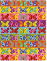 Miquel Rius Butterfly 4 Subject Notebook