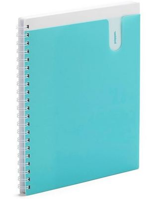 1 Sub Pocketbook Notebook, Aqua