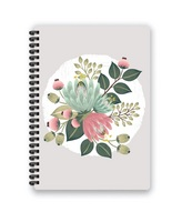 Pierre Belvedere Wirebound Floral Notebook
