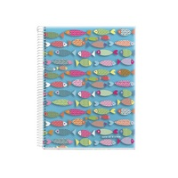 Miquel Rius Agatha Fish 4 Subject Notebook, Medium