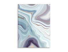 Large Notebook, Blue Gray Marble (Exclusive)