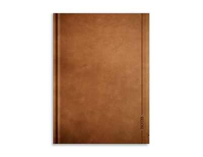 Large Notebook, Leather Note