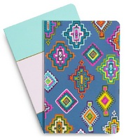 Vera Bradley Slim Journal Set, Painted Medallions