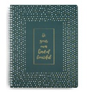 Vera Bradley Large Notebook, Falling Dots