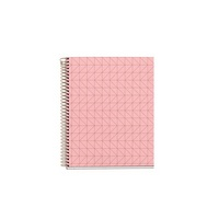 Miquel Rius Rose Gold Quartz Notebook, Medium