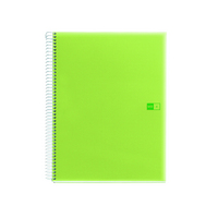 Miquel Rius Green Spot Poly 4 Subject Notebook