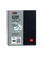 Miquel Rius Black Stonepaper 1 Subject Notebook