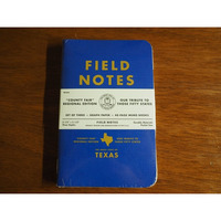 Field Notes Texas Edition