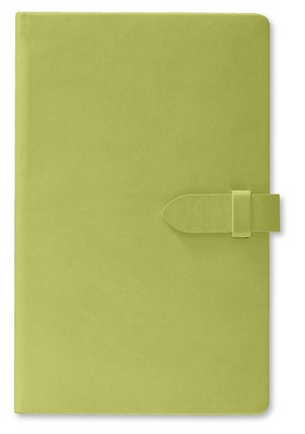 Pierre Belvedere Medium Clasp Journal, Sage