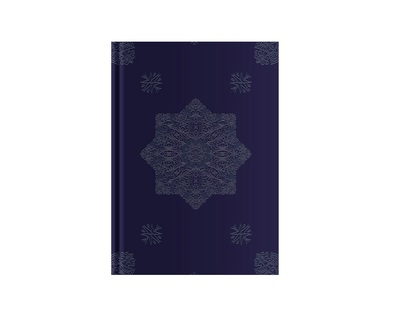 Pierre Belvedere Medium Notebook Navy