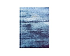 Pierre Belvedere French Blues Medium Notebook, Watercolor Blue