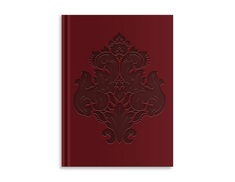 Pierre Belvedere Goth Opulence Large Notebook, Damask