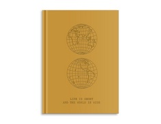 Pierre Belvedere Large Notebook The World