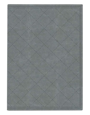 Pierre Belvedere Large Notebook Quilted Silver