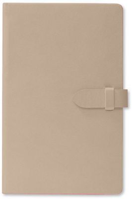 Pierre Belvedere Clasp Journal Beige