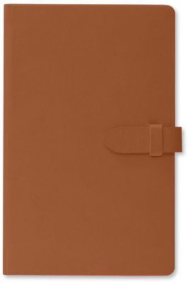 Pierre Belvedere Clasp Journal Brown