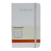 Moleskine Pocket Notebook with Debossed Wordmark, Ruled