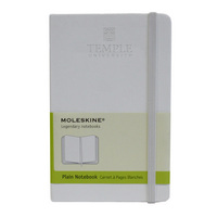 Moleskine Pocket Notebook with Debossed Wordmark, Unruled